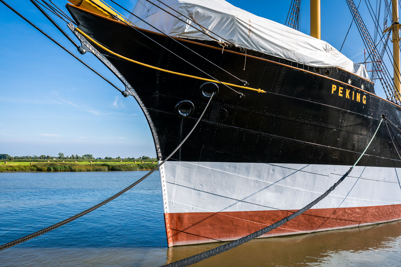 Sanierung der PEKING in der Peters Werft in Wewelsfleth