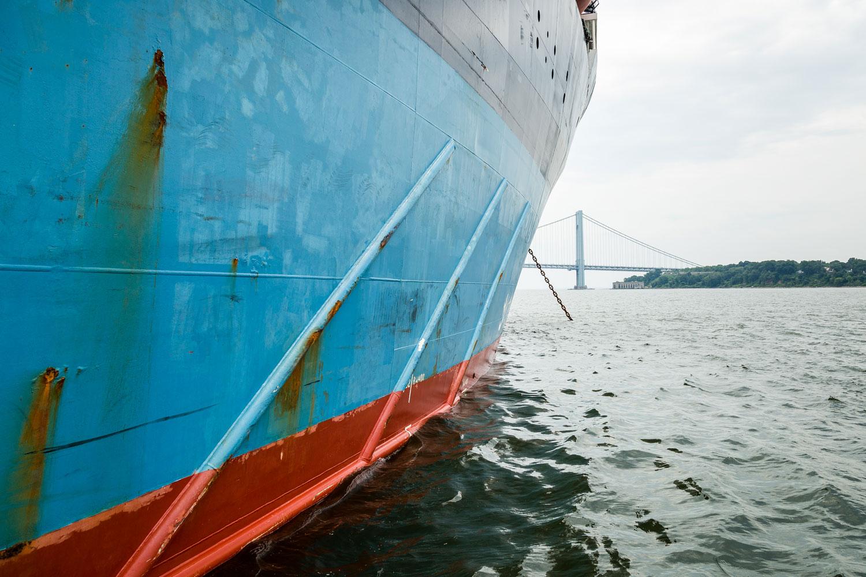 Combi Dock 3 Schiff von Harren und Partner