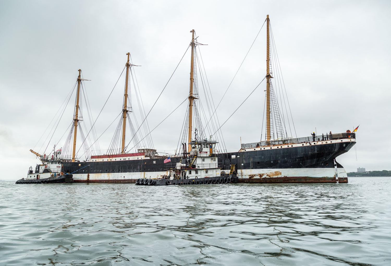 Historisches Schiff Peking in New York City