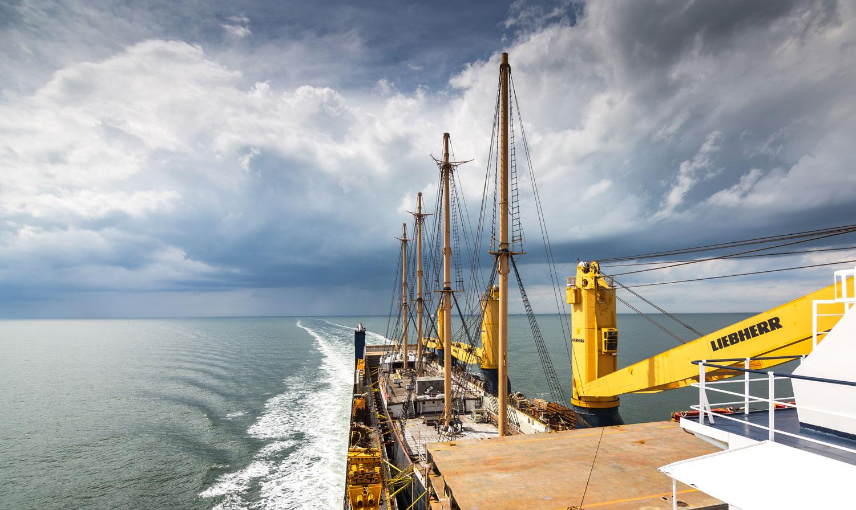 Die Peking im Dockschiff Combi Dock 3